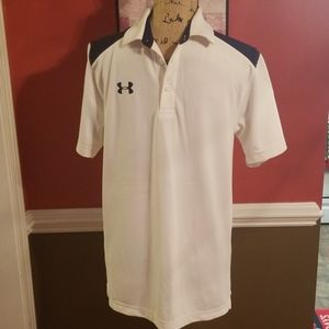 Under Armour Golf Shirt Size Small